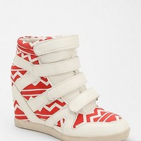 BDG Geo-Print Hidden Wedge High-Top Sneaker