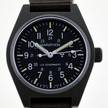 Marathon General Purpose Quartz Tritium Watch-Green