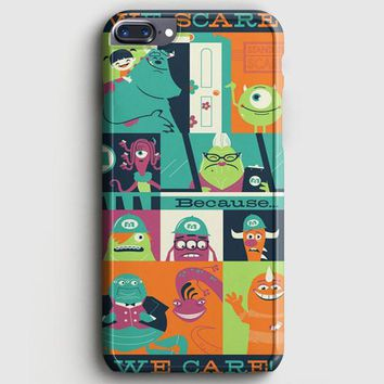 Monster Inc Quotes iPhone 8 Plus Case | casescraft