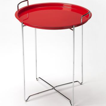 Midtown Red Tray Table by Butler Specialty Company 3293293