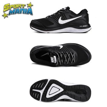 NIKE DUAL FUSION X1 Black&White Men Sport Running shoes