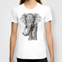 Ornate Elephant T-shirt by BioWorkZ