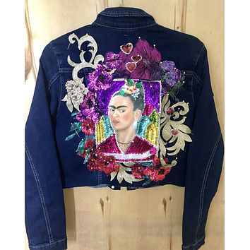 New Frida Denim Jacket