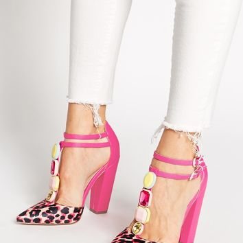 ASOS PHOTOBOOTH Pointed High Heels