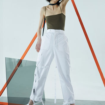 Strap Working Pants
