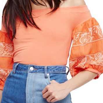 Free People Rock With It Off the Shoulder Top | Nordstrom