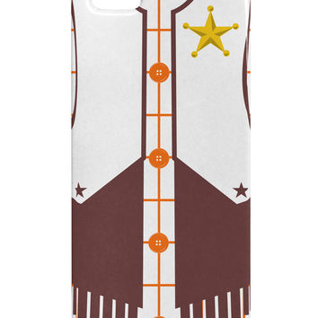 Cowboy White AOP iphone 5 & 5S Plastic Case All Over Print