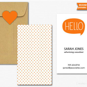 Business Cards Printable Digital PDF Calling Cards Mommy Cards Choose Your Colors