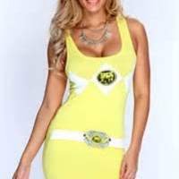 Stylish Strong Character Hot Sale Casual High Rise Slim Vest One Piece Skirt One Piece Dress [6049139009]