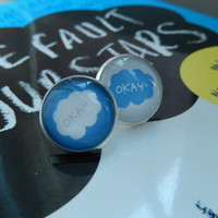 the fault in our stars earrings!