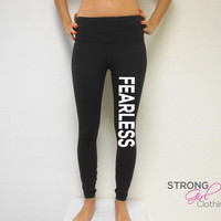 Fearless workout Pants. Workout Leggings. Fearless. Fitness Pants. Gym Pants. Cross Training Pants.. Yoga Leggings. Compression Pants. Yoga