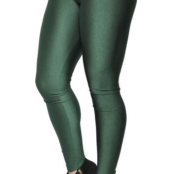 Green V-waist Leggings Design 324