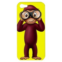 Curious George Apple iPhone 5 Hardshell Case