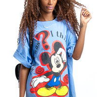 Vintage 90's What Was I Thinking? Mickey Tee - One Size Fits Many