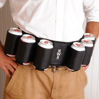 Joe Sixpack Beer Belt