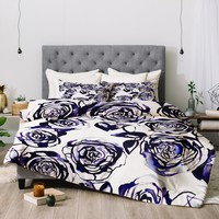 Holly Sharpe Inky Roses Comforter
