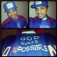 """Bigg-upp to my dude @whysguy """"GOD Makes Impossible....Possible"""" Matthew 19:26 ... - crossstitchapparel @ Instagram Web Interface - 5th village"""