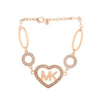 Christmas Gift for Her Awesome Stylish Shiny Accessory High Quality Diamonds MK Bracelet [8573599949]