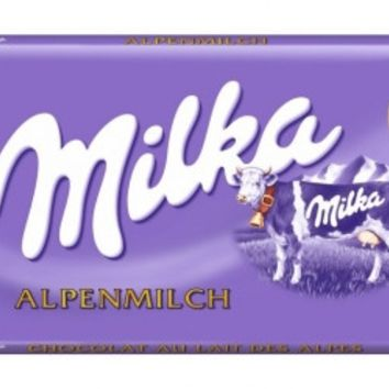 Milka Alpine Milk Chocolate