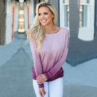 Loose Fashion Backless Tunic Shirt Top Blouse