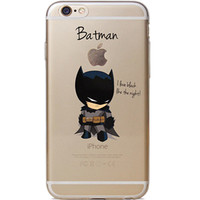 "Batman Jelly Clear Case for Apple iPhone 6/6s (4.7"")"