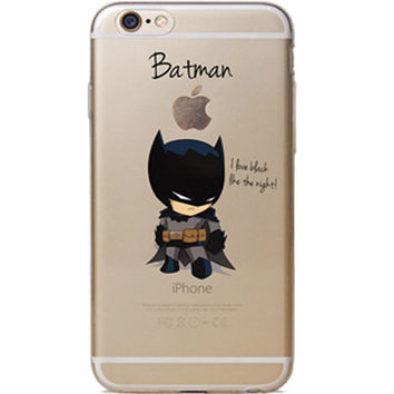 Batman Jelly Clear Case for Apple iPhone 5/5s, SE
