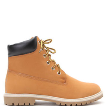 Black Poppy Timmy Work Boots at PacSun.com