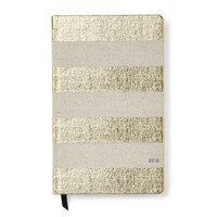 kate spade new york 12-Month Agenda, Gold Stripe