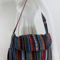 USA Shipping**Handbag Hippie Hobo Crossbody Messenger Boho Bag Hmong Camera Purse Nepali Cotton