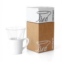 GINO dripper & LINO mug set