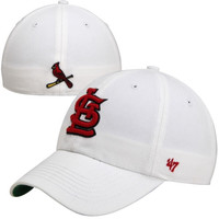 St. Louis Cardinals '47 Brand Franchise Fitted Hat – White