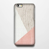 Life Style Geometric Pink iPhone 6 Case/Plus/5S/5C/5/4S Protective Case #908