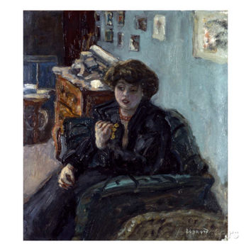Bonnard: Lady, 19Th C