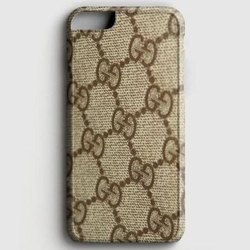 Gucci Texture Zooming iPhone 8 Case