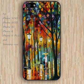 iPhone 6 case colorful watercolor lady in tree iphone case,ipod case,samsung galaxy case available plastic rubber case waterproof B071