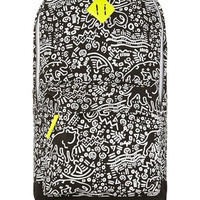 BLACK PANTHER PRINT BACKPACK - Bags   - Shoes and Accessories