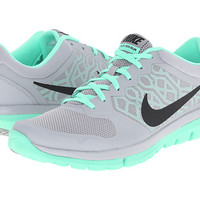 Nike Flex 2015 RUN Wolf Grey/Green Glow/Cool Grey/Black - Zappos.com Free Shipping BOTH Ways