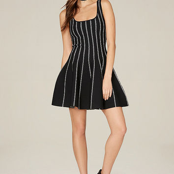 LEILANI FIT & FLARE DRESS