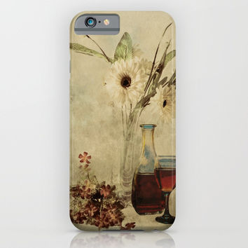 Wine And Wildflowers iPhone & iPod Case by Theresa Campbell D'August Art