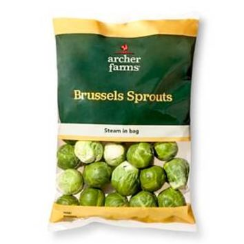 Archer Farms Brussel Sprouts 12 oz : Target