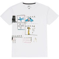 MEN SPRZ NY GRAPHIC T-SHIRT (JEAN-MICHEL BASQUIAT) | UNIQLO