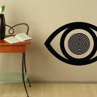 Wall Decals Eye Vision Hypnotized Decal Vinyl Sticker Home Decor Bedroom Interior Window Decals Living Room Art Murals Chu1373
