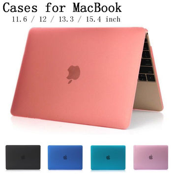 cover for Apple Macbook Air Pro Retina 11.6 12 13.3 15.4 inch laptop Cases For Mac book