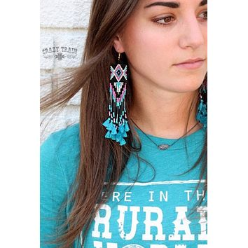 Pocahontas Earrings by Crazy Train