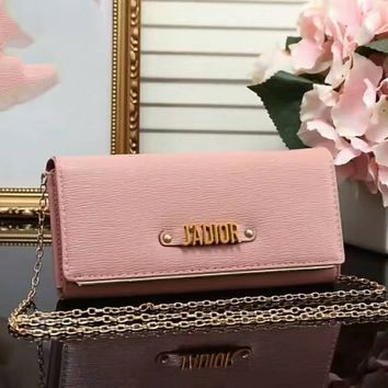 Dior tide brand fashion lady casual bag F-LLBPFSH  Pink