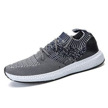 Elastic Knit Casual Training Shoes