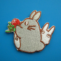 Cute Iron-on Embroidered Patch TOTORO 2.25 inch