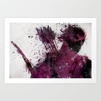 Hawkeye Art Print by Melissa Smith
