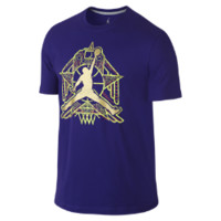 Nike Jordan Crescent City Jumpman Men's T-Shirt - Court Purple