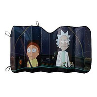 Rick And Morty Accordion Sunshade